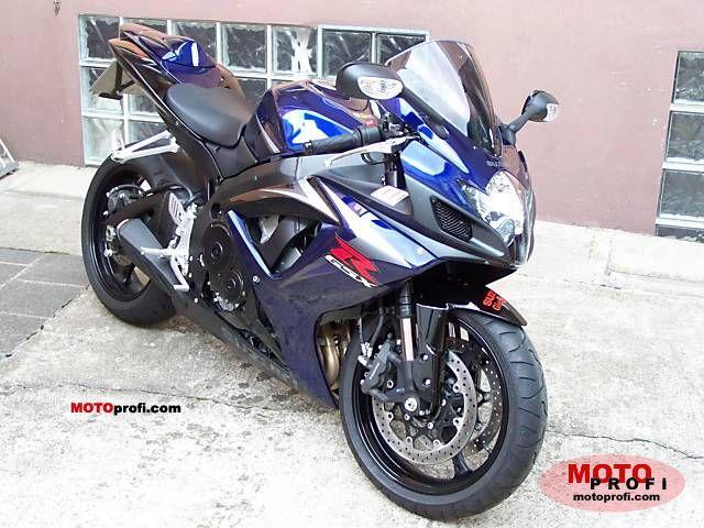 Suzuki GSX-R 750 2008 Specs and Photos