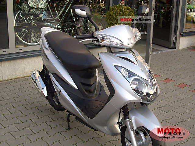 Sym VS 125 2008 Specs and Photos