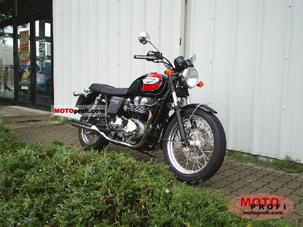 Triumph Bonneville T100 2008 photo