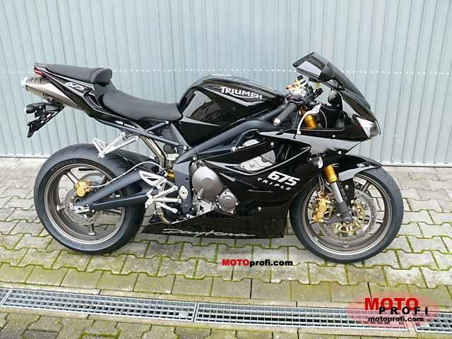Triumph Daytona 675 2008 Specs And Photos