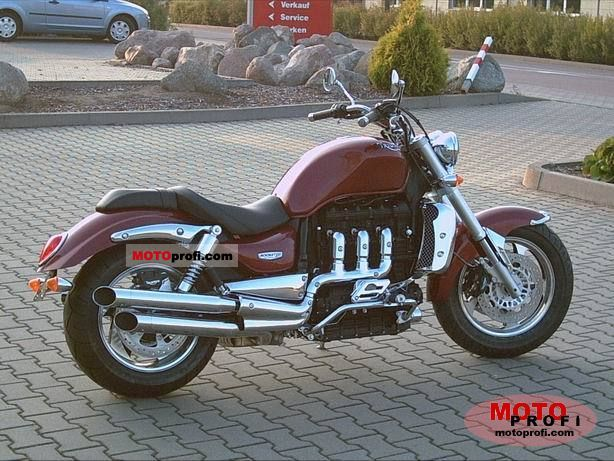 Triumph Rocket III 2008 photo