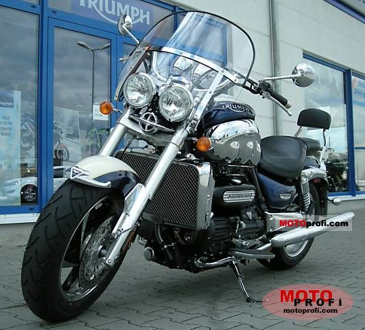 Triumph Rocket III Classic 2008 photo