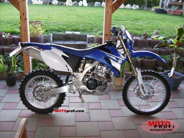 Yamaha WR 250 F 2008 photo