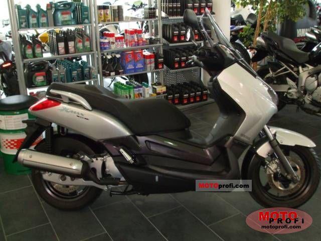 Yamaha X-Max 125 2008 Specs and Photos