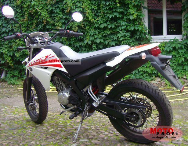 Yamaha Xt 125 X 2008 Specs And Photos