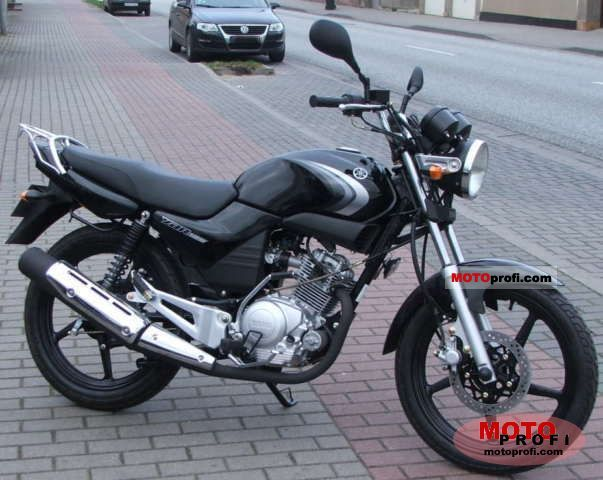 yamaha ybr 125 2008 specs and photos. Black Bedroom Furniture Sets. Home Design Ideas