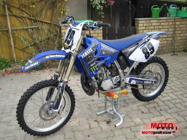 Yamaha Yz 250 2008 Specs And Photos