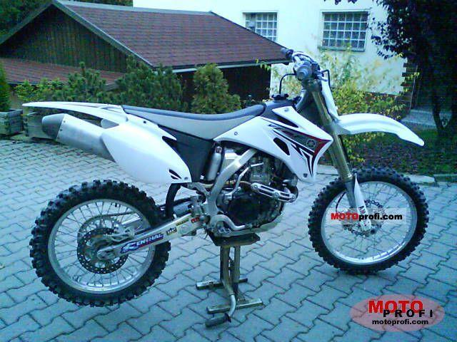 Yamaha YZ 450 F 2008 photo