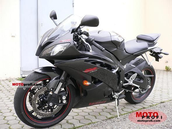 Yamaha YZF-R6 2008 Specs and Photos