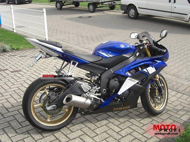 Yamaha YZF-R6 2008 Specs and Photos
