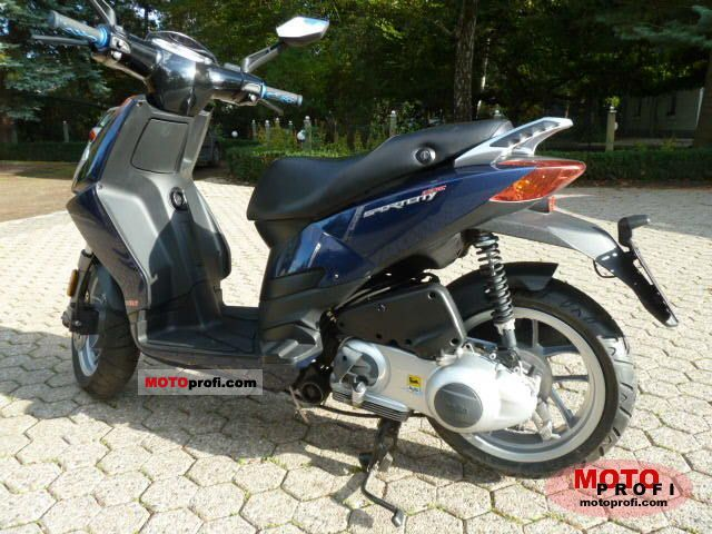 Aprilia SportCity One 125 2009 photo