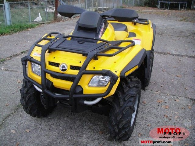 Can-Am Outlander 650 2009 photo