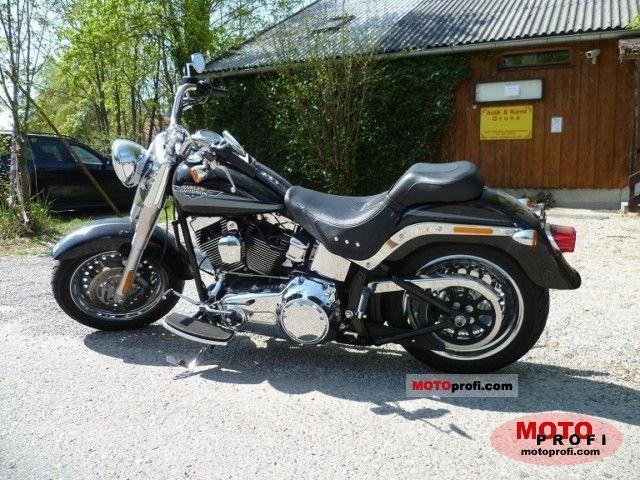 Harley-Davidson FLSTF Fat Boy 2009 photo