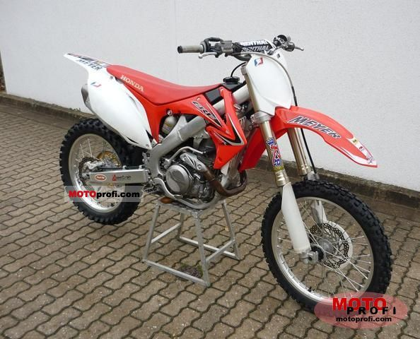 Honda CRF450R 2009 Specs and Photos