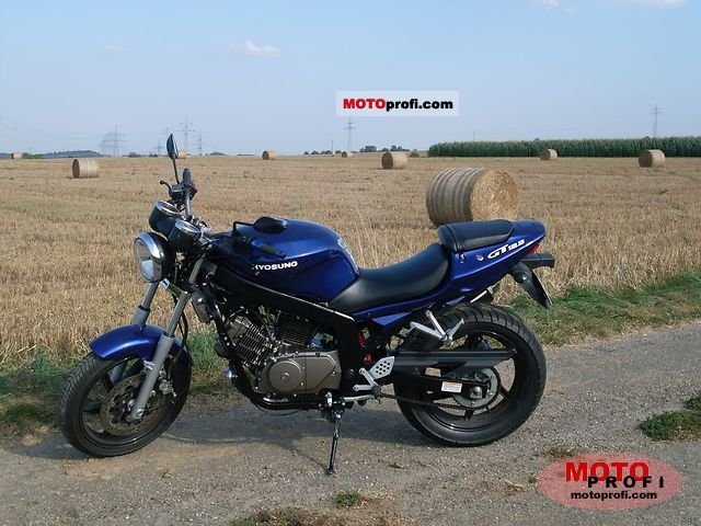 Hyosung GT 125 2009 photo