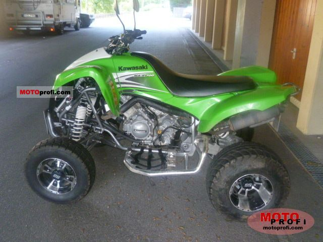 Kawasaki KFX 700 2009 Specs and Photos