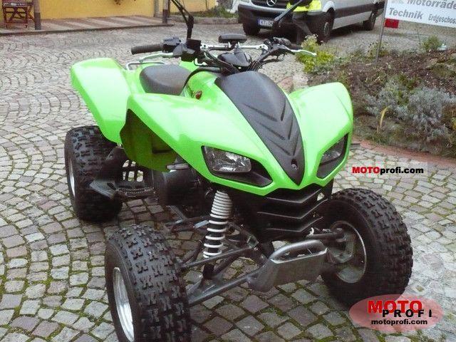 Kawasaki KFX 700 2009 Specs and Photos
