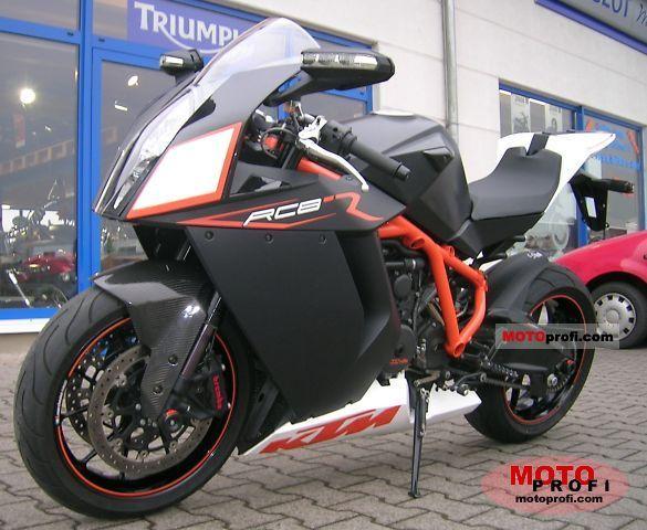 KTM 1190 RC8 R 2009 photo