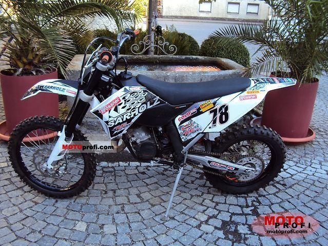 KTM 125 EXC 2009 photo