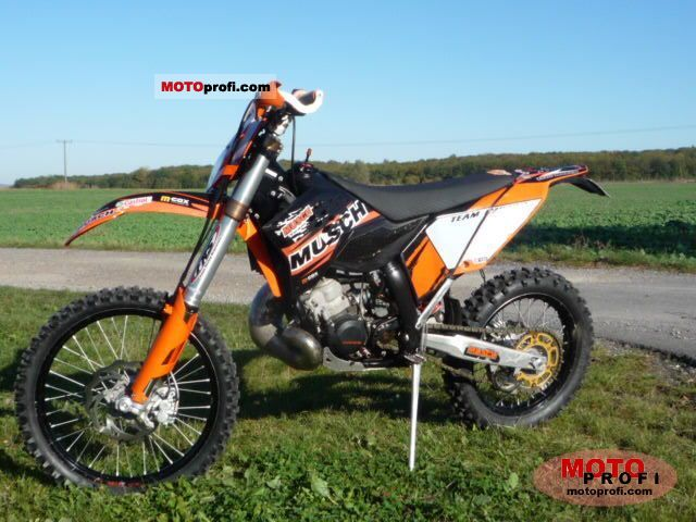 KTM 200 EXC 2009 photo