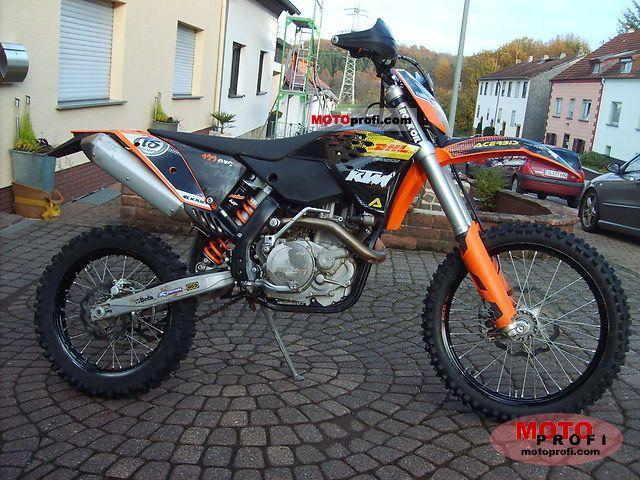 KTM 400 EXC 2009 photo
