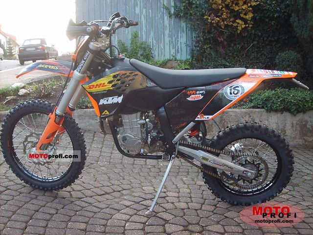 ktm 400 exc 2009 specs and photos