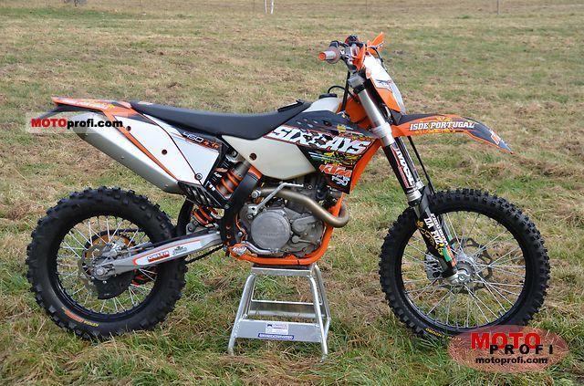 KTM 450 EXC 2009 photo