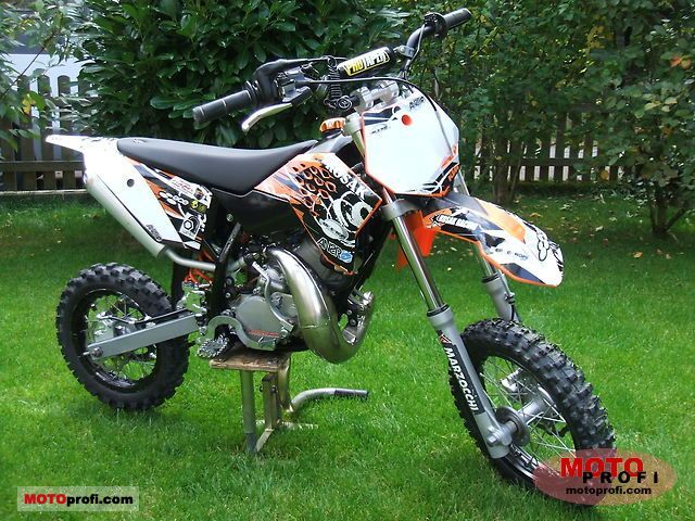 KTM 50 SX 2009 Specs and Photos