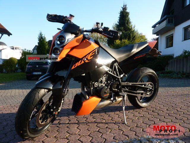 KTM 690 Duke 2009 Specs and Photos