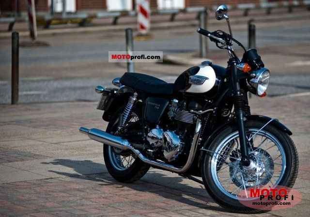 Triumph Bonneville T100 2009 photo
