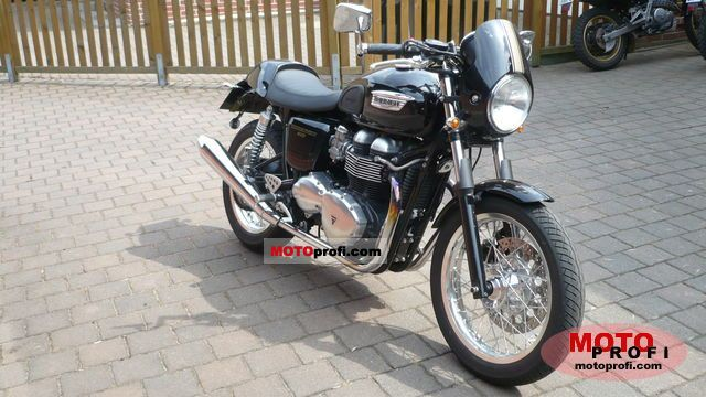Triumph Thruxton 2009 photo