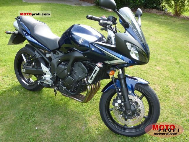 yamaha fz6 fazer s2 abs 2009 specs and photos. Black Bedroom Furniture Sets. Home Design Ideas