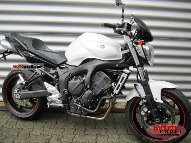 yamaha fz6 s2 2009 specs and photos. Black Bedroom Furniture Sets. Home Design Ideas