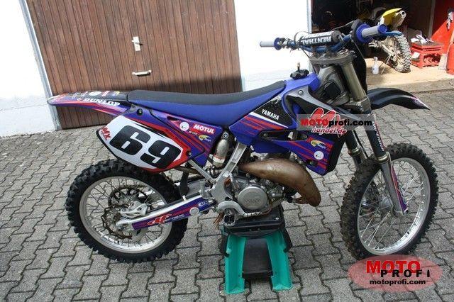 Yamaha YZ125 2009 Specs and Photos