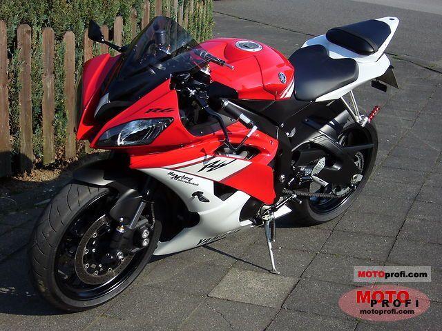 Yamaha yzf r6 2009 specs and photos for 2009 yamaha r6