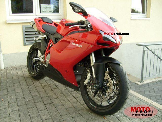 Ducati 848 2010 photo