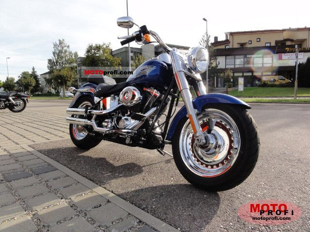 Harley-Davidson FLSTF Softail Fat Boy 2010 photo