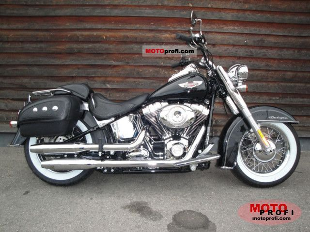 Harley-Davidson FLSTN Softail Deluxe 2010 photo
