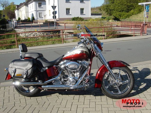 Harley-Davidson FLSTSE CVO Softail Convertible 2010 photo