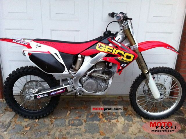 Honda CRF250R 2010 Specs and Photos