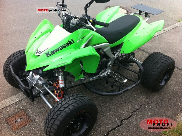 Kawasaki KFX 450R 2010 Specs and Photos
