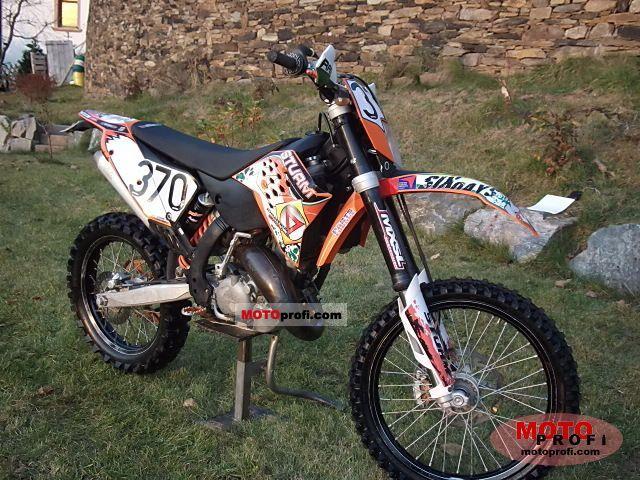 KTM 125 EXC 2010 photo