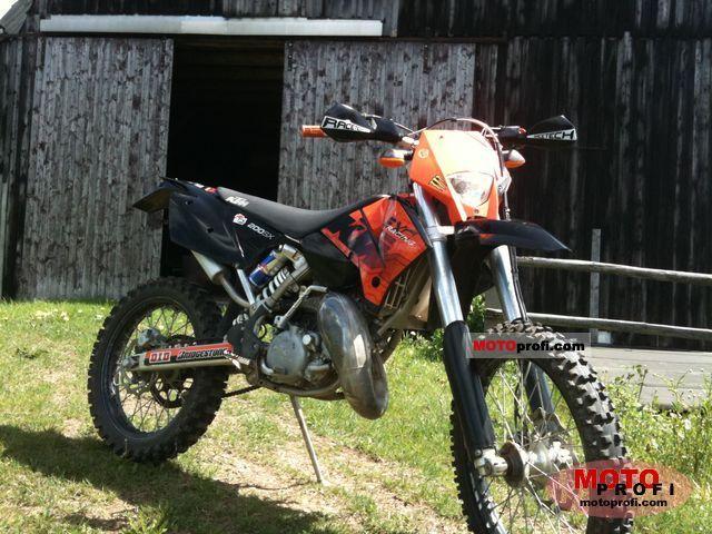 KTM 200 EXC 2010 photo