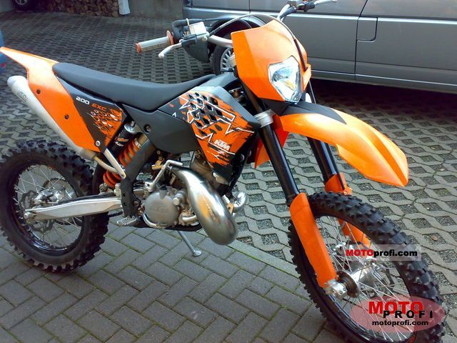ktm 200 exc 2010 specs and photos