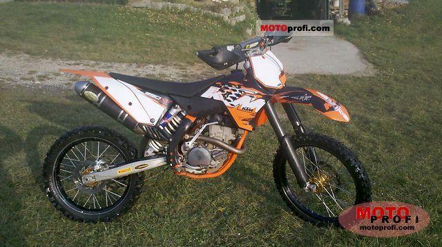 ktm 250 sx-f 2010 specs and photos