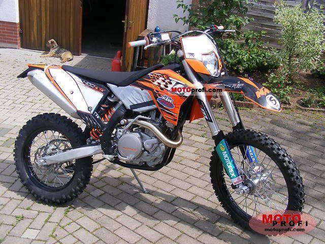 KTM 400 EXC 2010 photo