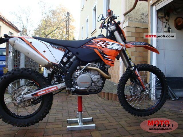 ktm 450 exc 2010 specs and photos