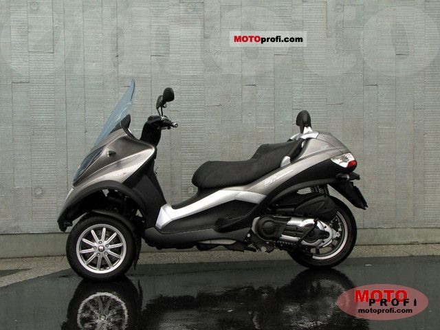 piaggio mp3 400 lt 2010 specs and photos