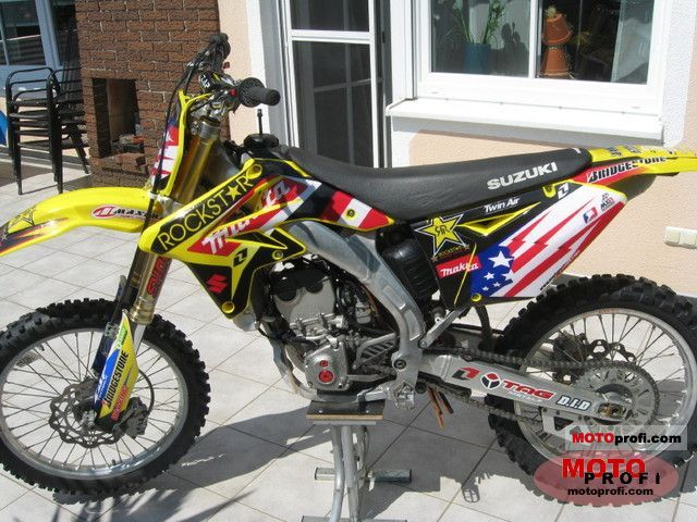 Suzuki Rm Z250 2010 Specs And Photos