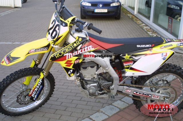 Suzuki RMZ 450 2010 Specs and Photos